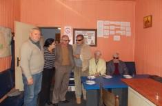 U poseti Udruženju slepih Sveti vid Smederevo
