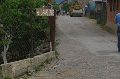 Obnova jedne od ulica na Ćavi
